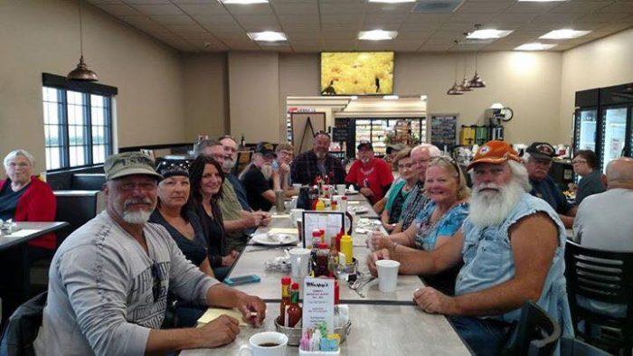 restaurant Templeton and Audobon, Iowa