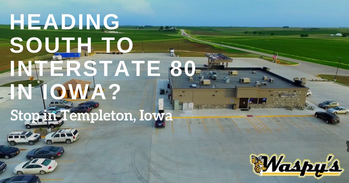HEADING SOUTH TO INTERSTATE 80 IN IOWA- | Waspy's Truck Stop