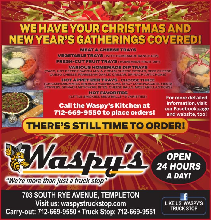 Holidays at Waspy's