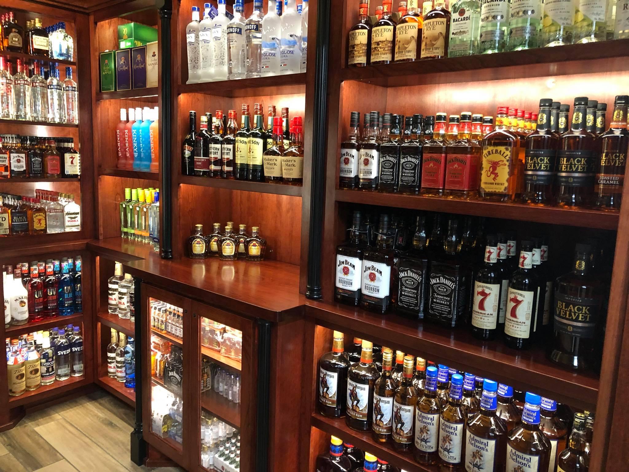 liquor  convenience store waspy's