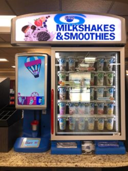 f'real milkshakes and smoothie machine