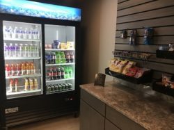 snack area at blue grass inn and suites