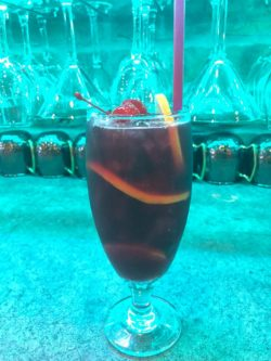 sangria at the feed mill