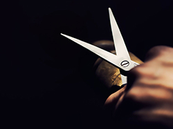 Ribbon cutting ceremony Audubon IA