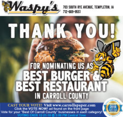 best burger in carroll county