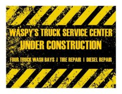 Waspy's Truck Service Center Under Construction