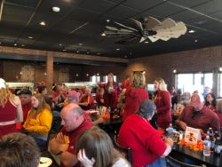 The Feed Mill with Iowa State Fans lunch