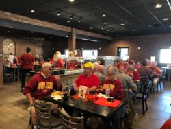 The Feed Mill with Iowa State Fans