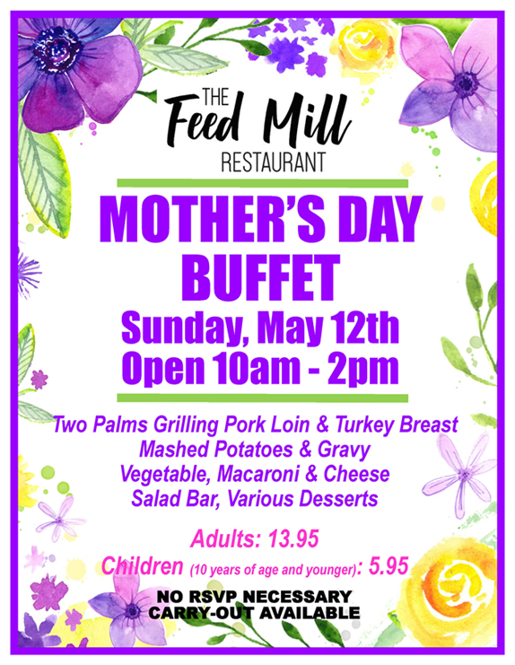 Mother's Day Buffet 2019
