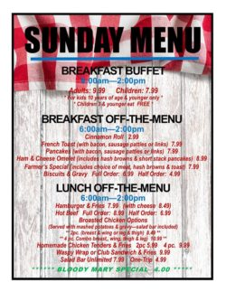 new feed mill sunday breakfast hours