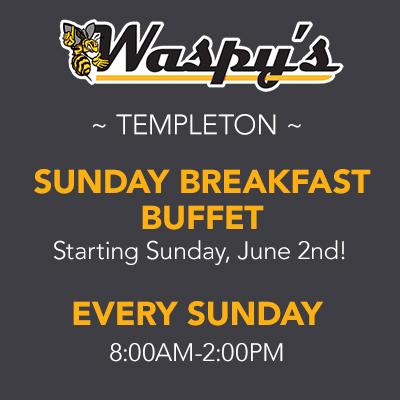 Templeton Breakfast Buffet