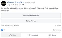 beths previous job facebook pool