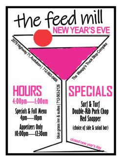 The Feed Mill New Year's Event