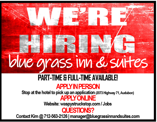 Help wanted Hotel