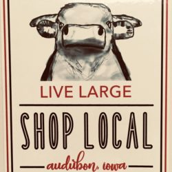 Audubon Chamber of Commerce Live Large Shop Local graphic