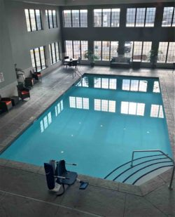 indoor pool at Blue Grass Inn and Suites
