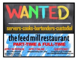 The Feed Mill Restaurant job post