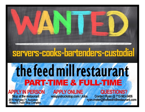 The Feed Mill Restaurant job post