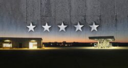 Waspy's Truck Stop Complex with five stars