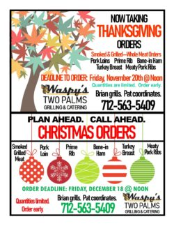 Now taking Thanksgiving orders