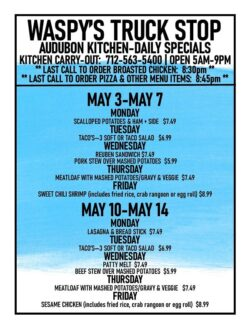 audubon kitchen daily specials