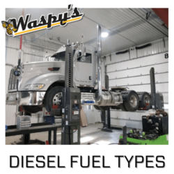 Diesel Fuel Type trucks getting repaired at Audobon Repair Shop