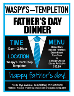 Fathers day dinner