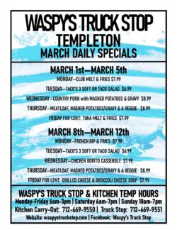 waspy's truck stop templeton