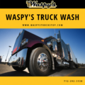 Waspy's Truck Wash for a serious clean