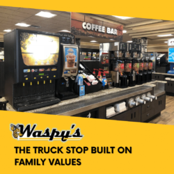 A truck stop near I80 Iowa built on family values