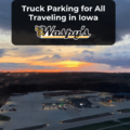 At Waspy's we have truck parking available for all that travel through Iowa.