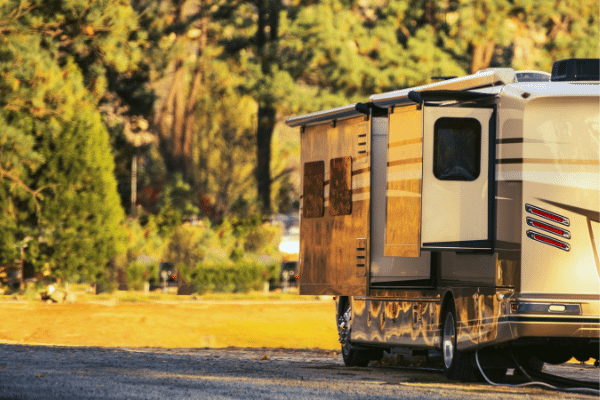 Clean your RV at Waspy's RV and truck wash.
