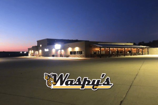 Waspy's Truck Stop Audubon Complex has a complete truck wash, also good for an RV wash too!