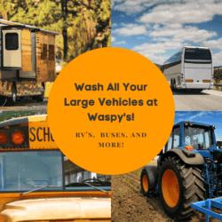 It's an RV wash, a bus wash, a truck wash and so much more!