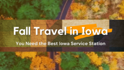 While you travel this fall, make a pit stop at Iowa's best service station, Waspy's!